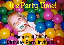 Sample of Child's